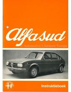 1973 ALFA ROMEO ALFASUD BETRIEBSANLEITUNG NIEDERLÄNDISCH