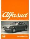 1973 ALFA ROMEO ALFASUD INSTRUCTIEBOEKJE NEDERLANDS