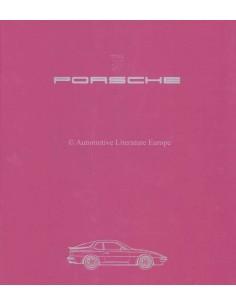 1984 PORSCHE 944 BROCHURE DUITS