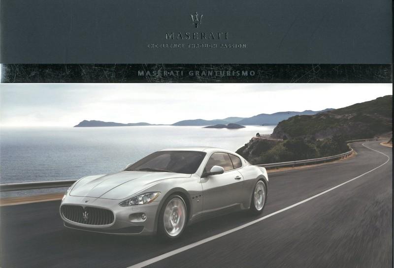 Maserati GranTurismo Brochure