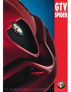1997 ALFA ROMEO GTV SPIDER BROCHURE DUTCH