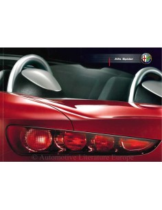 2006 ALFA ROMEO SPIDER BROCHURE GERMAN