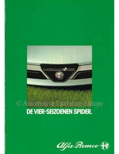 1983 ALFA ROMEO SPIDER BROCHURE NEDERLANDS