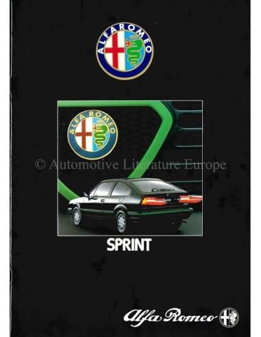 1983 Alfa Romeo Sprint Brochure Nederlands