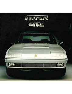 1985 FERRARI 412 PROSPEKT 354/85