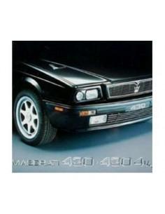 1992 MASERATI 430 - 430 4V BROCHURE FRENCH GERMAN