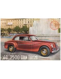 1950 ALFA ROMEO 6C 2500 GRAN TURISMO BROCHURE