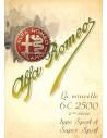 1947 ALFA ROMEO 6C 2500 SPORT & SUPER SPORT BROCHURE FRANS