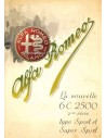 1947 ALFA ROMEO 6C SPORT & SUPER SPORT BROCHURE FRENCH