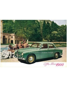1954 ALFA ROMEO 1900 BERLINA BROCHURE