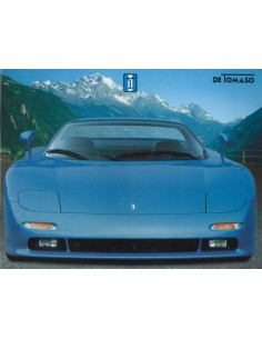 1996 DE TOMASO GUARA BROCHURE