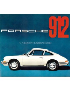 1966 PORSCHE 912 BROCHURE GERMAN