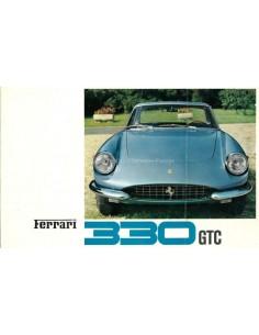1966 FERRARI 330 GTC PININFARINA BROCHURE