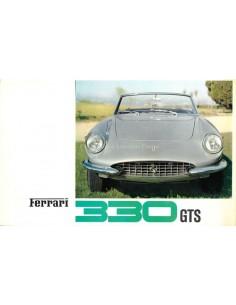 1966 FERRARI 330 GTS PININFARINA PROSPEKT