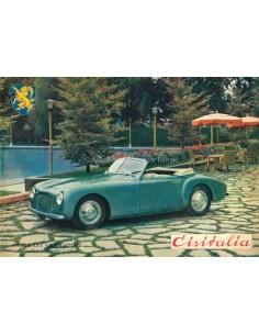 1949 CISITALIA GRAN SPORT CABRIOLET / COUPE PROSPEKT