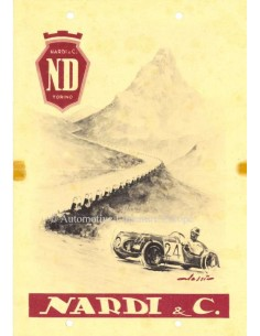 1947 NARDI ND 750 PROSPEKT ITALIENISCH