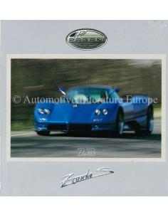 2002 PAGANI ZONDA S 7.3 PRESSE CD