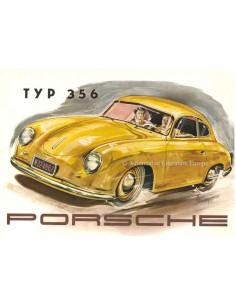 1952 PORSCHE 356 BROCHURE ENGLISH