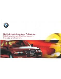 2000 BMW 3 SERIEN LIMOUSINE BETRIEBSANLEITUNG DEUTSCH