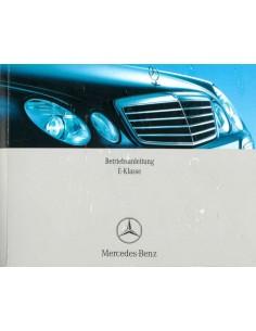 2007 MERCEDES BENZ E CLASS OWNERS MANUAL GERMAN