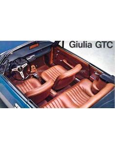 1965 ALFA ROMEO GIULIA GTC PROSPEKT ITALIENISCH