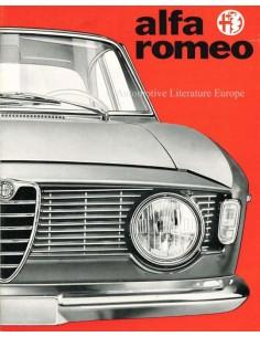 1965 ALFA ROMEO GIULIA SPRINT GT / GTC PROSPEKT
