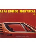 1971 ALFA ROMEO MONTREAL BROCHURE DUTCH
