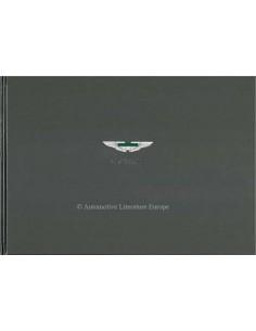 2001 ASTON MARTIN DB7 VANTAGE HARDBACK BROCHURE GERMAN