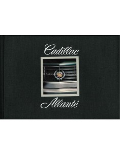 1987 CADILLAC ALLANTE HARDBACK BROCHURE ENGLISH