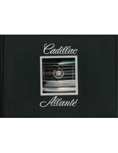 1987 CADILLAC ALLANTE HARDCOVER BROCHURE ENGELS