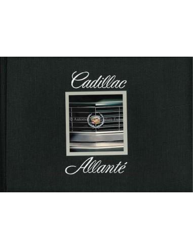 1987 CADILLAC ALLANTE HARDBACK BROCHURE ENGLISH