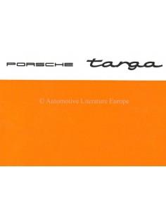 1967 PORSCHE 912 / 911 / 911 L TARGA ZUSATZ BETRIEBSANLEITUNG ENGLISCH