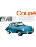 1964 PORSCHE 356 C BROCHURE GERMAN