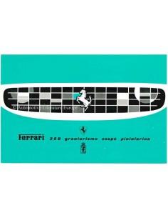 1958 FERRARI 250 GRANTURISMO COUPE PININFARINA PROSPEKT ENGLISCH