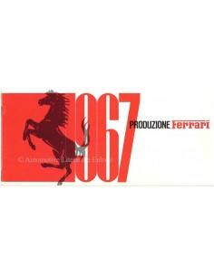 1967 FERRARI PRODUZIONE BROCHURE 11/66