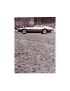 1966 MASERATI GHIBLI PRESS PHOTO