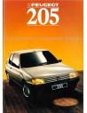 1988 PEUGEOT 205 BROCHURE DUTCH