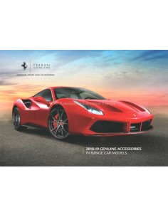2018-19 FERRARI GENUINE ACCESSORIES BROCHURE ENGLISH