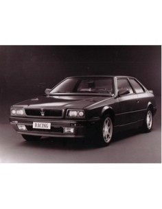 1991 MASERATI RACING PRESSFOTO