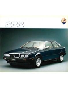 1988 MASERATI 222 BROCHURE ITALIAN