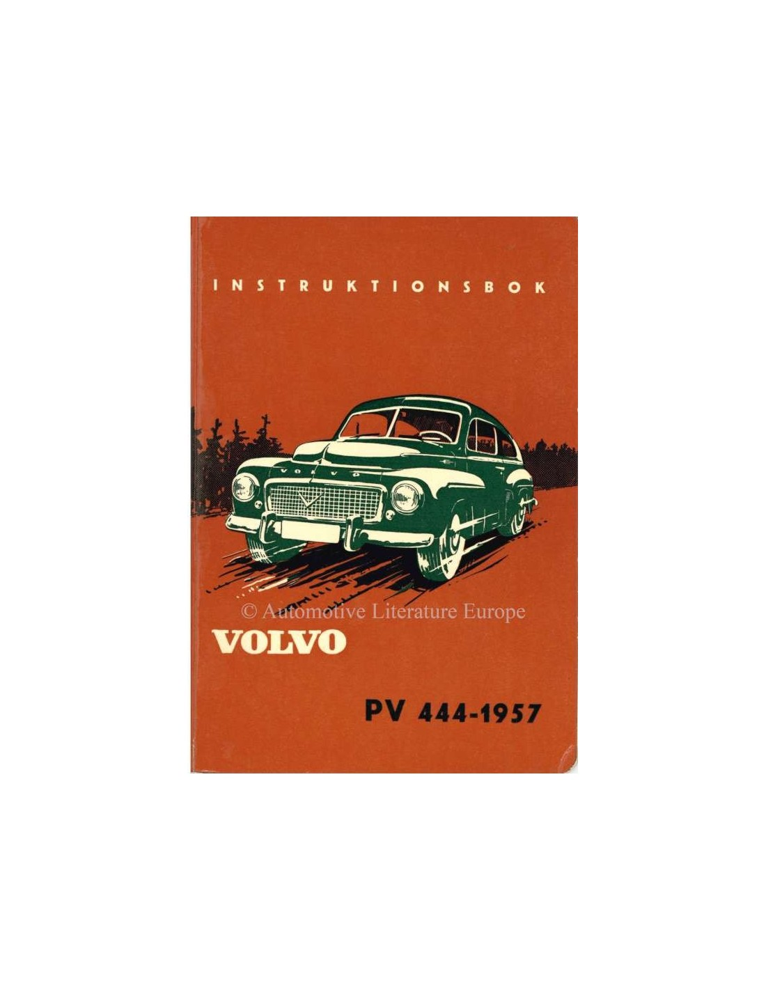 1957 volvo pv 444 owners manual swedish rh autolit eu Volvo 122 Volvo PV544 Hot Rods