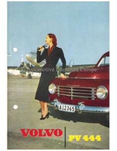 1954 VOLVO PV 444 BROCHURE NEDERLANDS