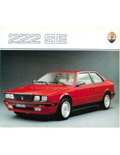 1991 MASERATI 222 SE BROCHURE