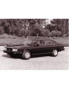 1979 MASERATI QUATTROPORTE III PRESS PHOTO