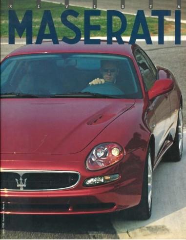 1999 MASERATI RIVISTA MAGAZINE 2