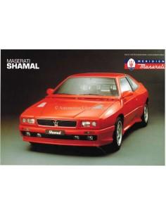 1994 MASERATI SHAMAL LEAFLET ENGLISH