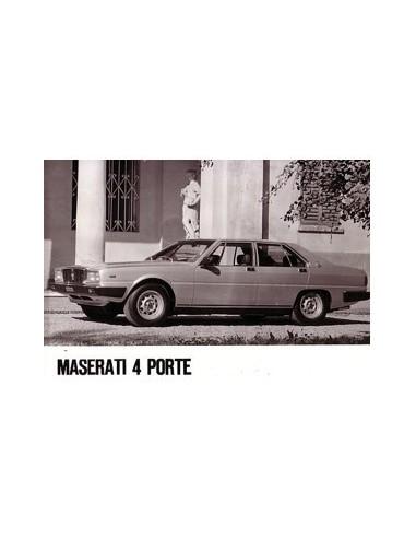 1983 MASERATI QUATTROPORTE III PERSFOTO