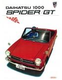 1968 DAIHATSU 1000 SPIDER / GT BROCHURE ENGLISH