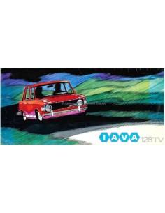 1974 IAVA 128 TV PROSPEKT SPANISCH