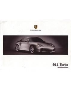 2003 PORSCHE 911 TURBO BETRIEBSANLEITUNG DEUTSCH